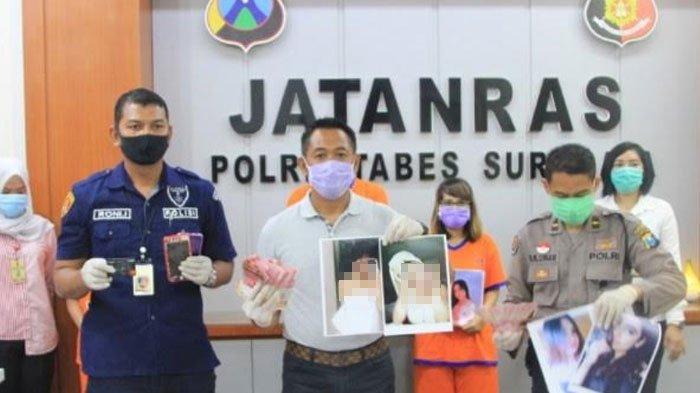 BREAKING NEWS -Praktik Prostitusi Online Bertarif Puluhan Juta di Surabaya Dibongkar Polisi