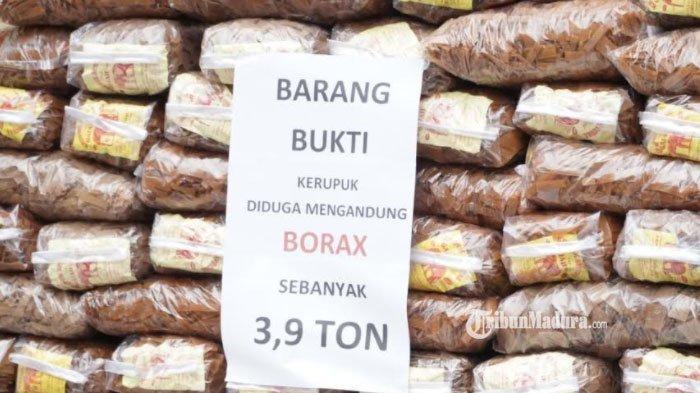 Bisnis Krupuk Tahu Berbahan Boraks di Sidoarjo Dibongkar Polisi, Pasutri Pemilik Pabrik Ditangkap