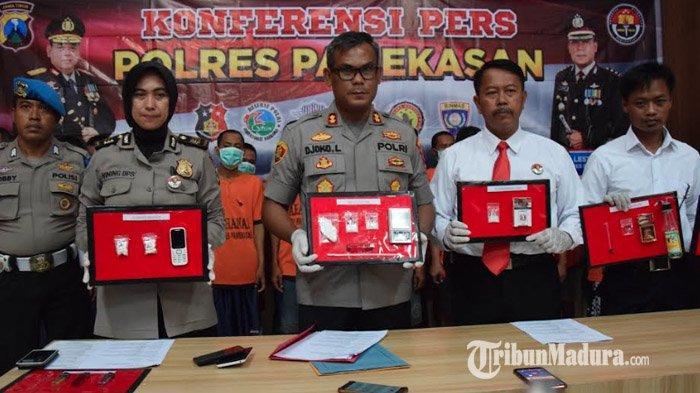 Polres Pamekasan Bekuk 24 Tersangka Penyalahgunaan Narkoba di 6 Kecamatan, Salah Satunya Perempuan