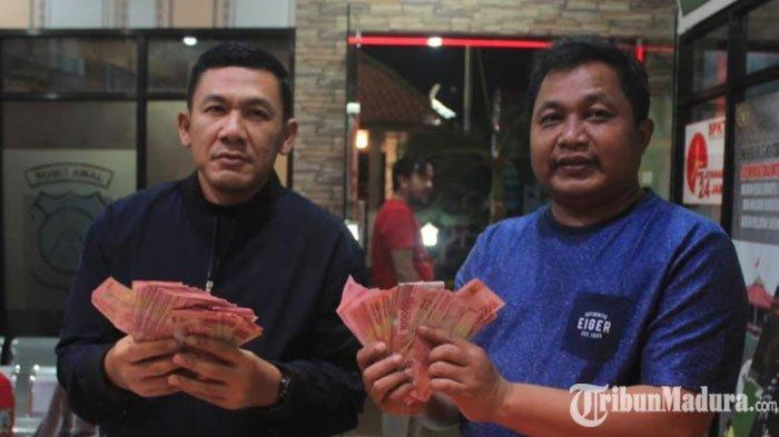 Polisi BongkarBandar Judi Pilkades Serentak Kabupaten Blitar, Amankan Uang Puluhan Juta dari Pelaku