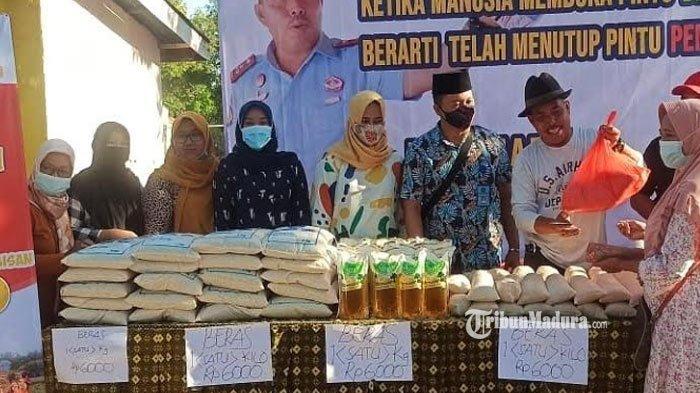 Jadi Serbuan Warga, Bazar Murah Paket Sembako Lapas Pamekasan Ludes hanya Dua Jam setelah Dibuka