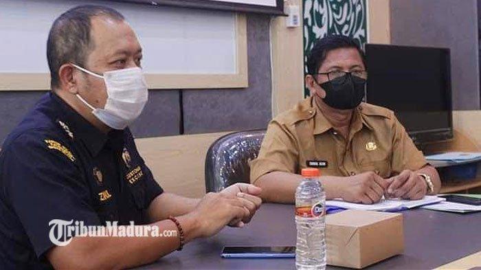 Upaya Berantas Rokok Ilegal, Bea Cukai Madura dan Pemkab Koordinasi Penggunaan Anggaran DBHCHT 2021