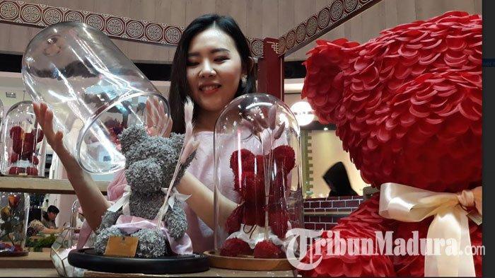 Bingung Pilih Hadiah di Hari Valentine, Kasih Boneka Beruang dari Tanaman Rambat Saja