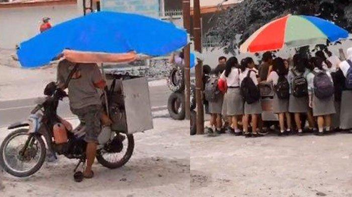 Beda Nasib, Penjual Pasrah Melihat Dagangan Sebelahnya Laris Diserbu Anak Sekolah, Simak Faktanya