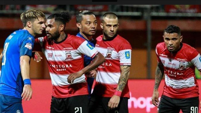 Jelang Laga Madura United vs Perseru Badak Lampung, Fandry Imbiri Minta Hal Tak Terduga ke Suporter