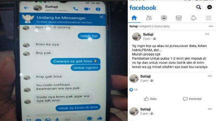 Beredar Akun Facebook Wali Kota Malang Sutiaji Berjualan Pulsa, Pemkot Malang: Itu Tidak Benar