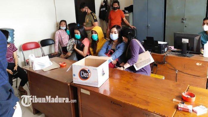 16 Purel Ditangkap di Lamongan Usai Satpol PP Gerebek Kafe yang Beroperasi di Ramadan, ada Miras