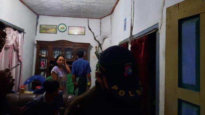 Terdampak Gempa Blitar, 19 Rumah di Lumajang Retak dan Alami Kerusakan