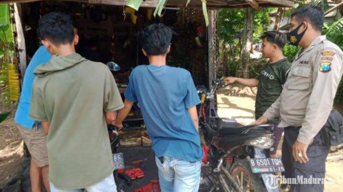 Jelang Tahun Baru, Polsek Larangan Pamekasan Larang Pemilik Bengkel Layani Pemasangan Knalpot Brong