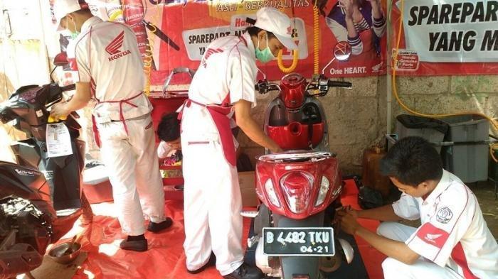 Musim Hujan, Penjualan Spare Parts Sepeda Motor Menurun