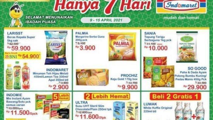 Promo JSM Indomaret Berlaku Hingga Minggu 11 April 2021, Ada Promo Keajaiban Ramadan dan Promo Heboh