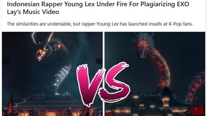 Video Raja Terakhir Young Lex Disebut Nyontek Video Musik Lay EXO, Disinggung Media Asing Koreaboo
