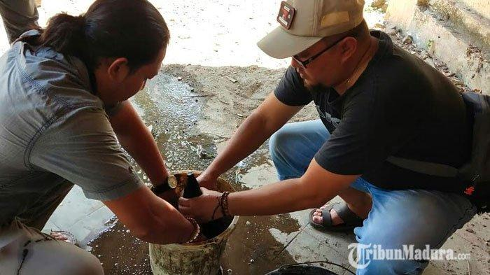 Warga Sedang Kerja Bakti, Temukan Bongkahan Besi yang Ternyata Mortir, Ingin Dikoleksi Namun Urung
