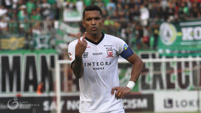 Madura United Terancam Bermain TanpaBeto Goncalves Saat JamuPS Tira Persikabo di Stadion Bangkalan