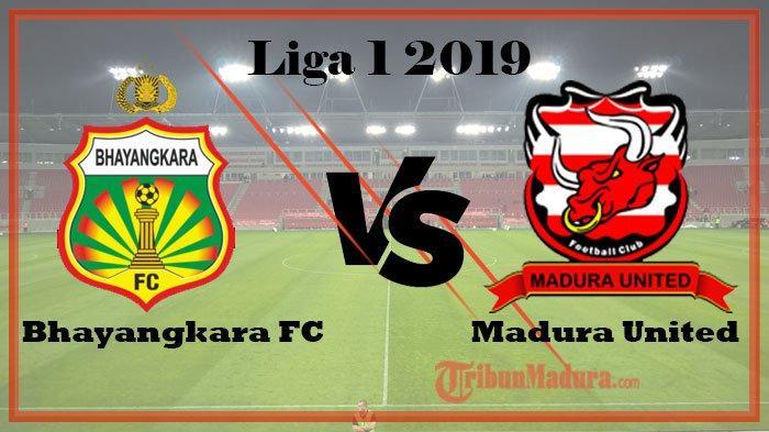 Skor Sementara Bhayangkara FC Vs Madura United, Tuan Rumah Unggul Tipis 1-0 Kalahkan Madura United