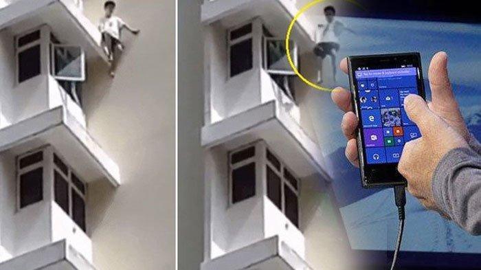 Ponselnya Disita Orang Tua, Anak Kecil yang Kecanduan Gadget ini Nekat Lompat dari Apartemen Rumah