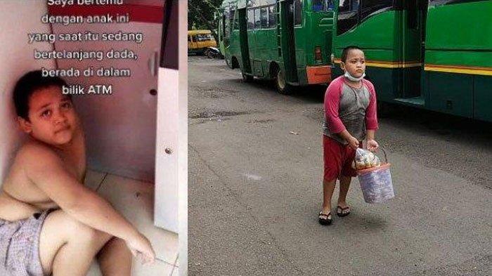 Bocah Kepergok Ngadem di ATM Usai Jualan Donat Keliling, Nasibnya Berubah Baik, Ditawari Main Film