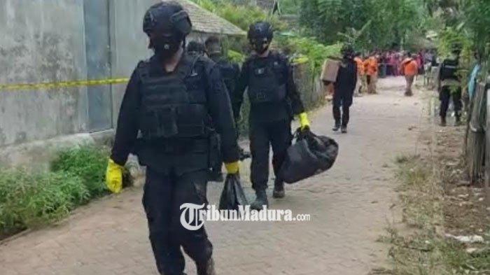 Polisi Periksa Istri dan Anak Korban Ledakan Bom Bondet di Pasuruan