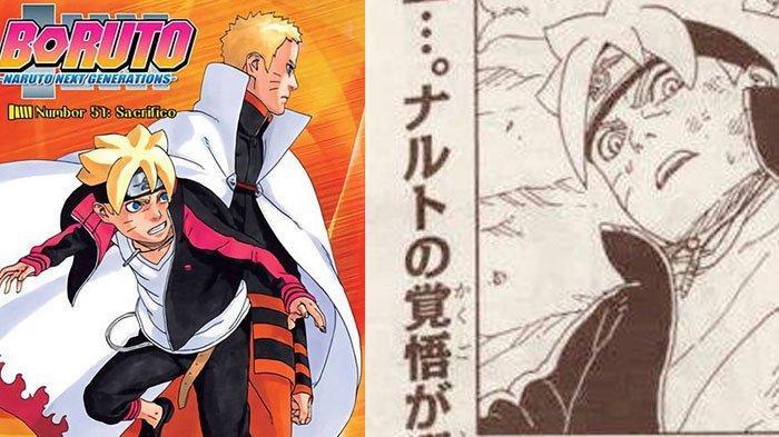 Naruto Mati Setelah Debat dengan Kyuubi? ini Link Baca Manga Boruto Chapter 51, Lalu Nasib Sasuke