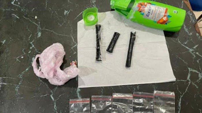Bukan Shampoo Biasa, Botol Shampoo Titipan untuk Penghuni Lapas Kediri ini Ternyata Isinya Sabu
