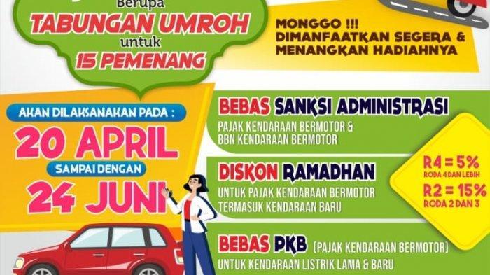 Program Diskon Pajak Mobil dan Motor Segera Berakhir, Pendapatan Pemprov Jatim Rp 1 Trilliun Lebih