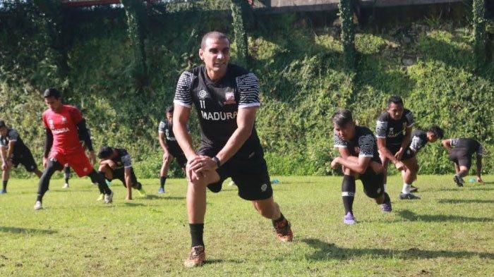 5 Hari Karantina Mandiri, Bruno Lopes dan Jaimerson Xavier Mulai Gabung Latihan dengan Madura United