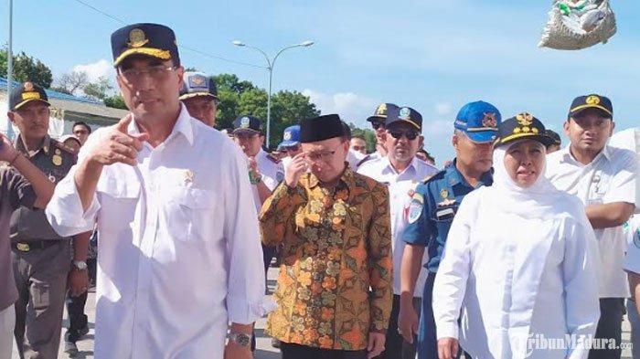 Periksa Keamanan Kapal di Pelabuhan Kalianget, Budi Karya Sumadi Minta Sediakan Tenda Buat Penumpang