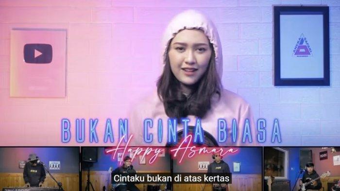 Download Lagu MP3 'Bukan Cinta Biasa' Happy Asmara Viral di TikTok, 'Cintaku Bukan di Atas Kertas'