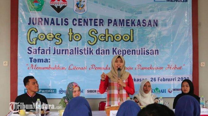 JCP Gelar Pelatihan Jurnalistik Dasar dan Penulisan Karya Sastra, Ajak Siswa Gemar Membaca