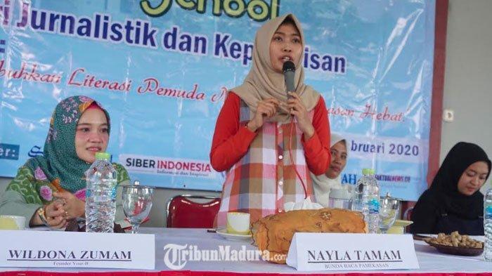Bunda Baca Pamekasan Minta Pemerintah Desa Ikut Meningkatkan Minat Baca Masyarakat Melalui Perpusdes