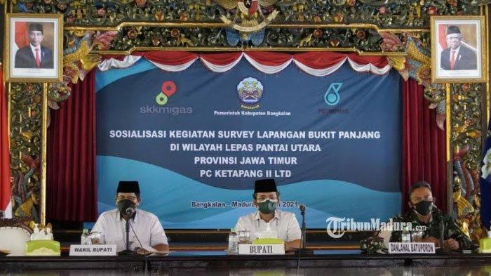 Eksplorasi Migas PT Petronas Sampang-Gresik Lewati Wilayah Pantura Bangkalan, Ra Latif Beri Pesan