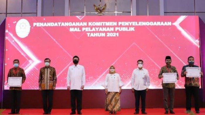 Bupati Teken Komitmen Penyelenggaraan MPP, Bangkalan Bersemangat Menjadi Kabupaten Ramah Investasi