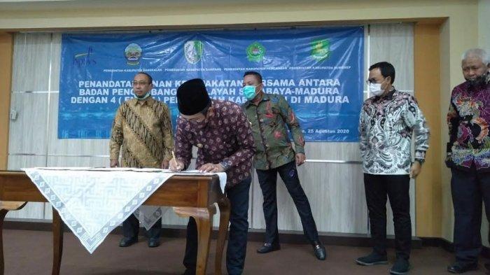 Bupati Bangkalan: Kami Ingin Monumen 'Selamat Datang di Bumi Madura' Dibangun di Akses Suramadu