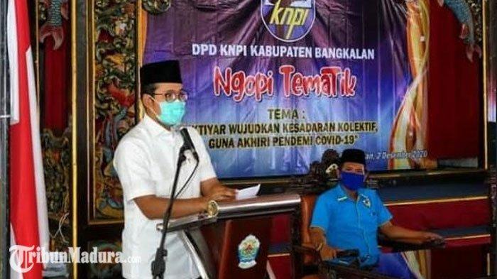 Bupati Ra Latif Ajak Pemuda Bangkalan Wujudkan Kesadaran Kolektif Demi Akhiri Pandemi Covid-19
