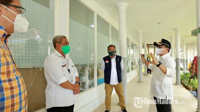 Kasus Covid-19 di Banyuwangi Terus Meningkat, Bupati Pastikan Ruang Isolasi di Rumah Sakit Mencukupi