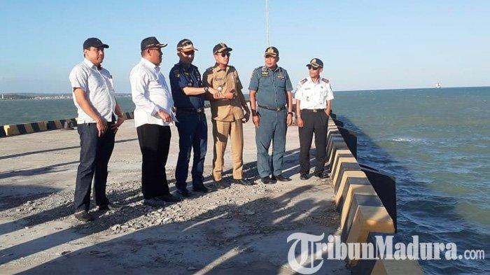 Pelabuhan Tadden Akan Diresmikan Menteri Perhubungan, Bupati dan Wabup Sampang Gelar Sidak Sore Hari