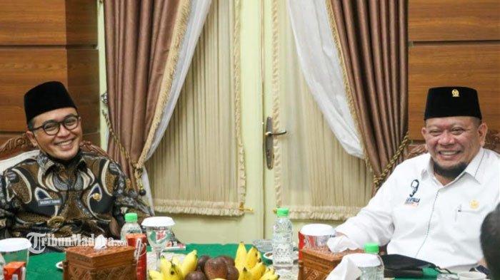 Ketua DPD RI La Nyalla Mattaliti Kunjungi Pamekasan, Baddrut Tamam Paparkan 5 Program Prioritasnya