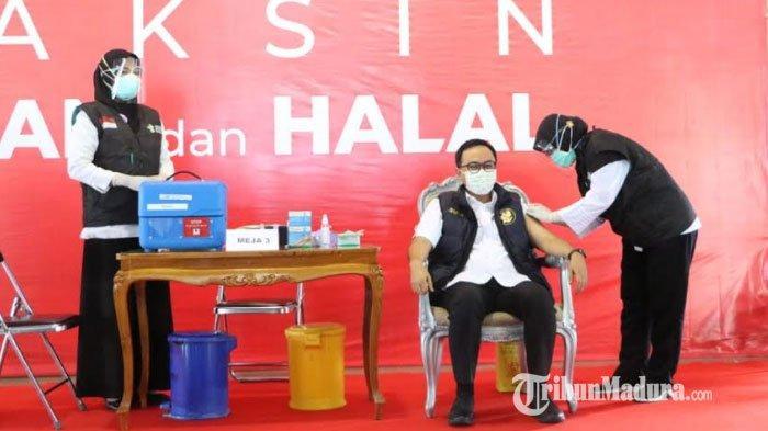 Pemkab Pamekasan Targetkan 500 Ribu Masyarakat Divaksinasi Covid-19, Harap Pandemi Segera Berakhir