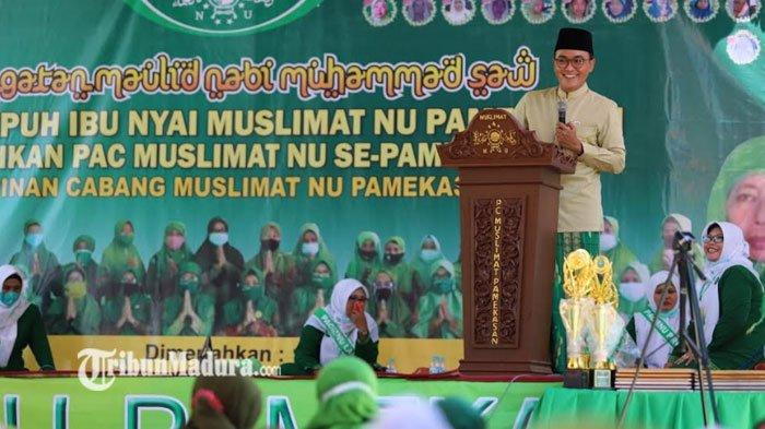 Bupati Baddrut Tamam Minta Doa Restu ke Para Ulama Demi Suksesnya MTQ XXIX Jatim di Pamekasan