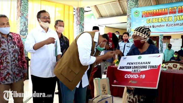 Pamekasan Jadi Kabupaten Tercepat Nomor Dua di Indonesia dalam Penyaluran BLT DD ke Masyarakat