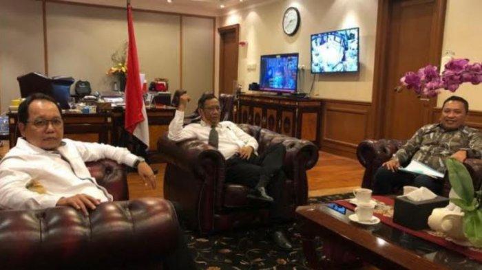 Bupati Sampang Temui Menkopolhukam Mahfud MD & Kementerian PUPR, Bahas Progres Pembangunan Floodway