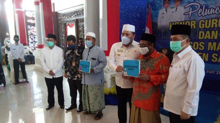 Pemerintah Kabupaten Sampang Madura Naikkan Honor 6.000 Guru Ngaji dan 200 Marbot