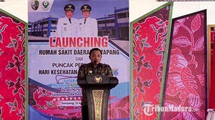 Bupati Sampang Slamet Junaidi Resmikan Rumah Sakit Daerah Ketapang di Pantura