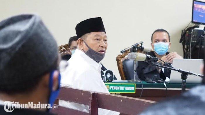 Sidang Kasus Dugaan Suap, Bupati Sidoarjo Saiful Ilah Kukuh Sebut Uang untuk Deltras Bukan Suap