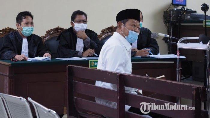 BREAKING NEWS - Jalani Sidang Perdana Korupsi, Bupati Sidoarjo Nonaktif Saiful Ngaku Jadi Korban