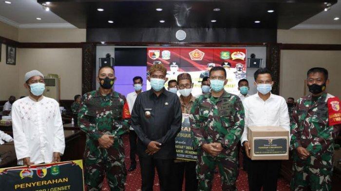 Penutupan TMMD ke-110, Bupati Sumenep Achmad Fauzi Apresiasi TNI