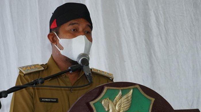 Bantu Warga yang Terdampak PPKM Darurat, Bupati Sumenep Achmad Fauzi Ajak ASN Menyumbang Beras