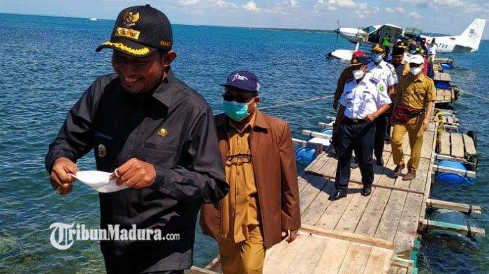 Maskapai Travira Air Uji Coba Pesawat Amphibi, Rute Penerbangan Bali-Giliyang Sumenep Bakal Dibuka