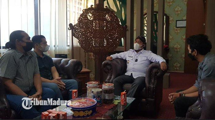 Kondisi Kian Mencekik, Paguyuban Pengusaha Kopi Datangi Bupati Sumenep Achmad Fauzi, ini Harapannya