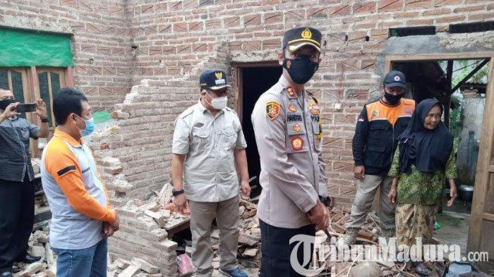 54 Rumah dan Empat Tempat Ibadah di Tulungagung Rusak Akibat Gempa, Data Kemungkinan Bertambah